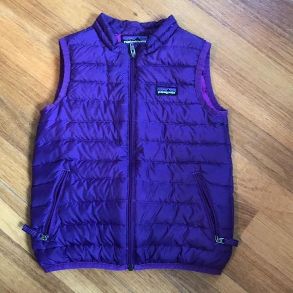 256222b09 Patagonia Girls Down Sweater Vest